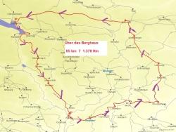 Karte Über das Berghaus