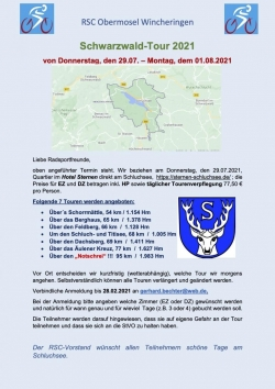 Schwarzwaldtour 2021 am Schluchsee 1